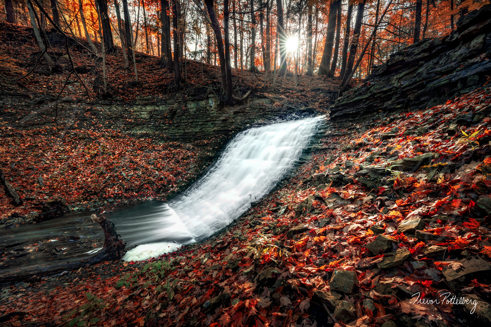 Washboard Falls Photography Art | Trevor Pottelberg Photography