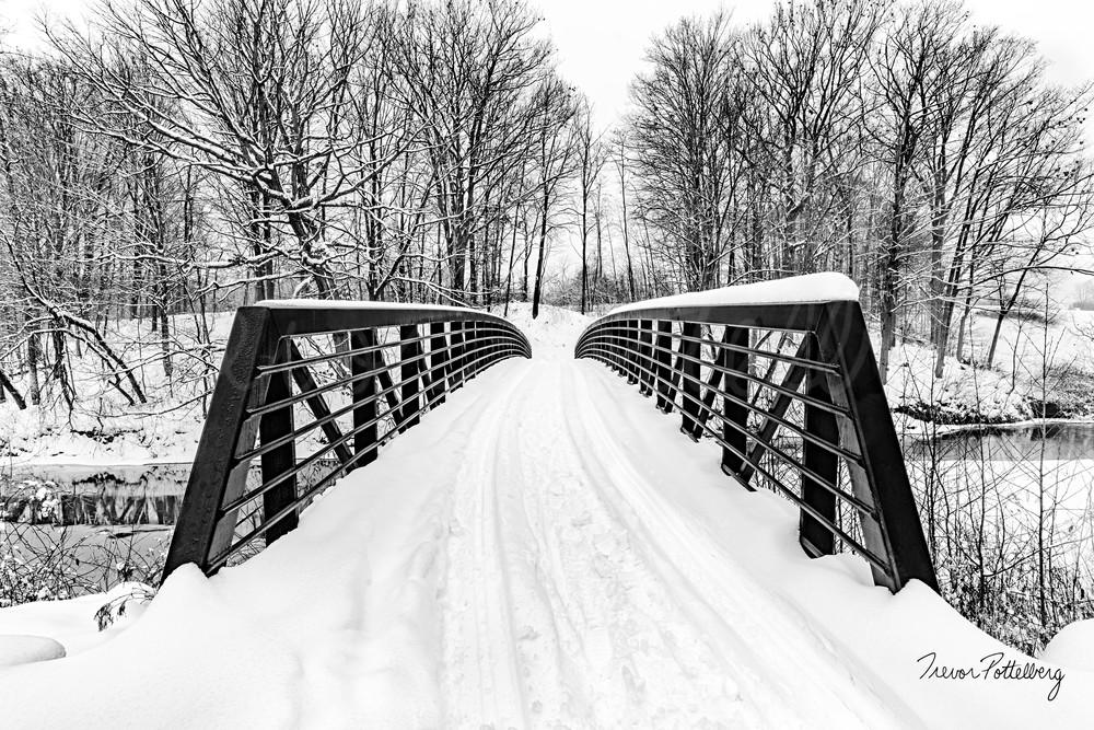 Winter Crossing Photography Art | Trevor Pottelberg Photography