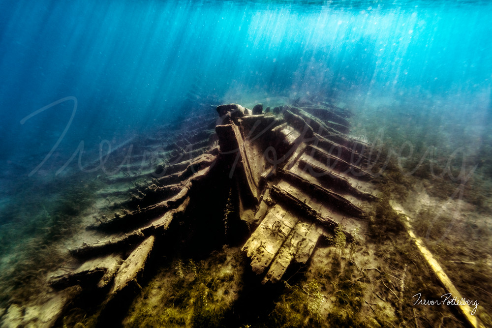 Skeleton Ship Photography Art | Trevor Pottelberg Photography
