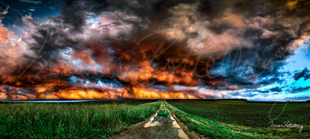 Into The Inferno Photography Art | Trevor Pottelberg Photography