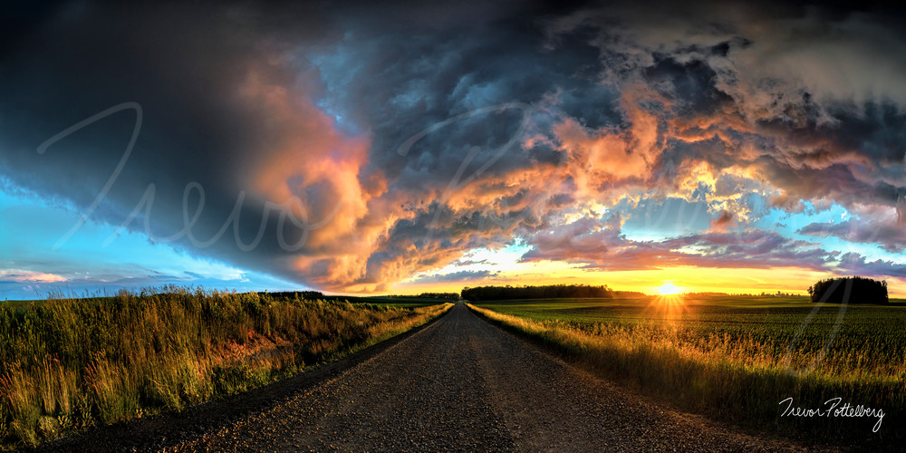 Calm Before The Storm Photography Art | Trevor Pottelberg Photography