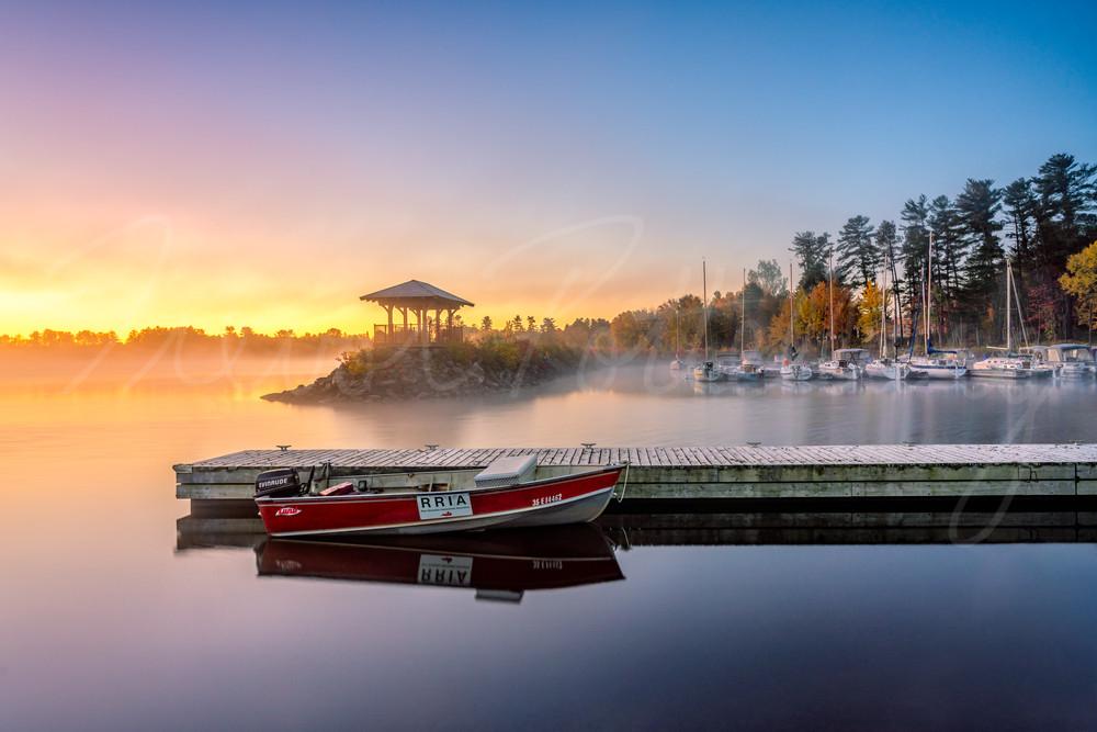 Deep River Marina Photography Art | Trevor Pottelberg Photography