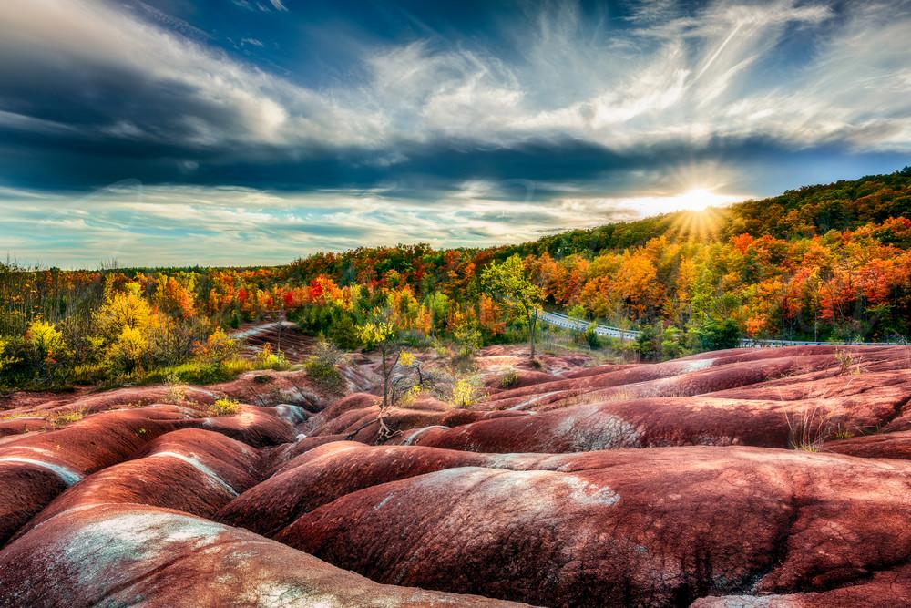 Badlands Sunset Photography Art   Trevor Pottelberg Photography