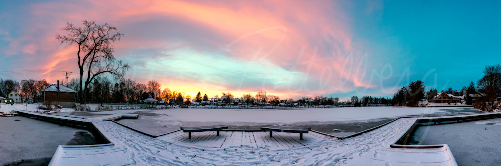 Symmetrical Sunset Photography Art | Trevor Pottelberg Photography