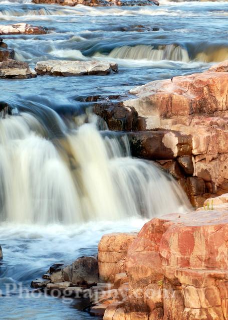 Falls Park Waterfalls