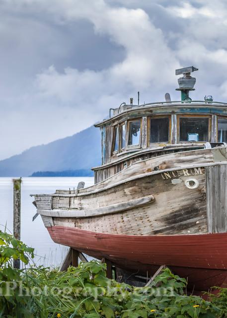 Abandoned Fishing Boat print, Jim Parkin Fine Art Photography