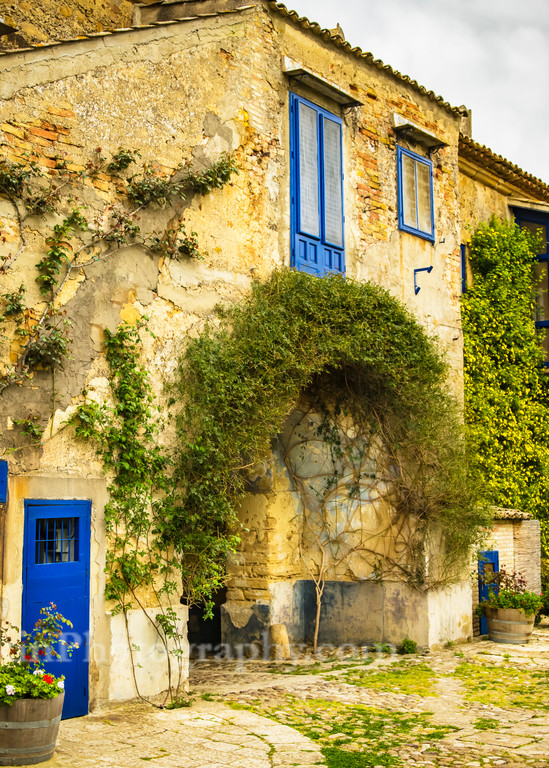 Courtyard Wall | Jim Parkin Fine Art Photography