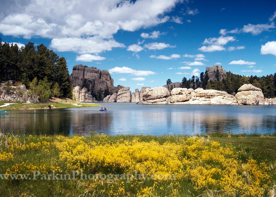 Spring, Sylvan Lake