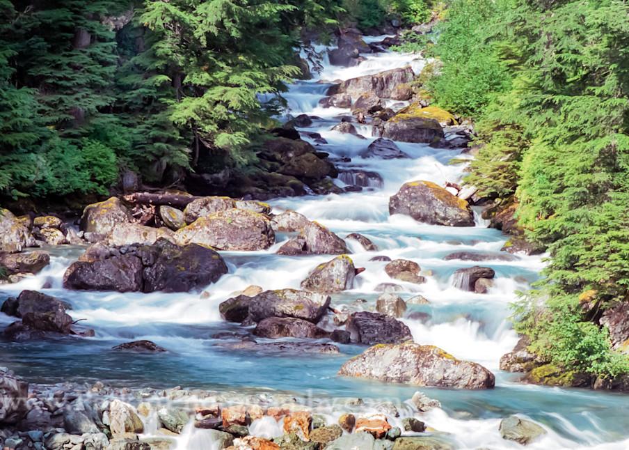 Hyder Waterfall 5 Photography Art | Jim Parkin Fine Art Photography