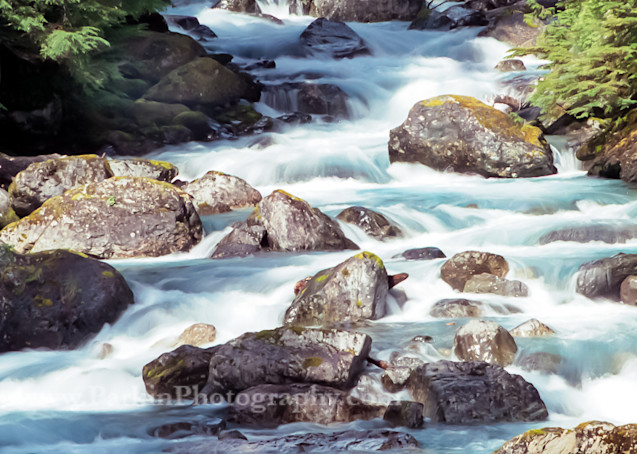 Hyder Waterfall 7  Photography Art | Jim Parkin Fine Art Photography