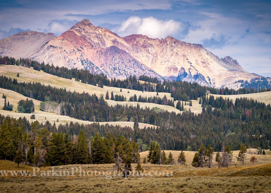 Mountain Landscape, Yellowstone