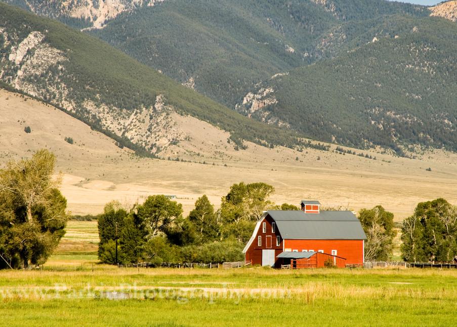 Red Barn | Jim Parkin Fine Art Photography