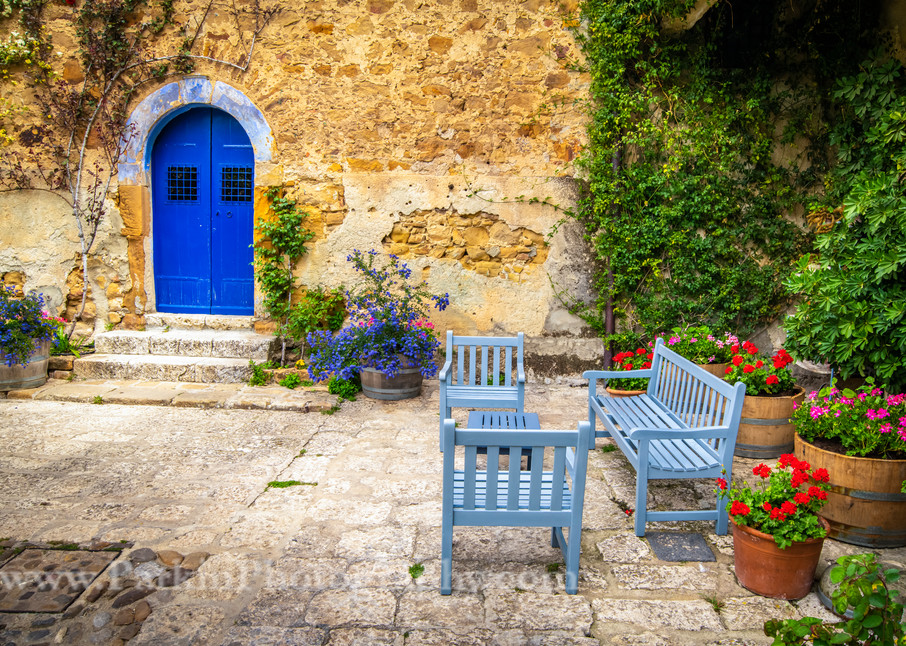 Courtyard Benches