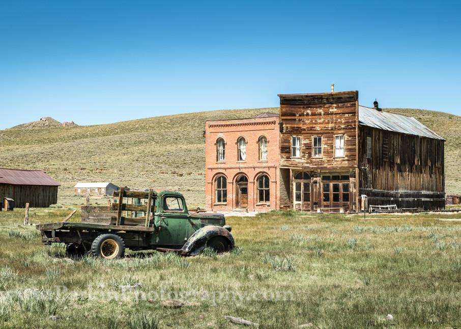 """Old Truck on Main Street"" print | Jim Parkin Fine Art Photography"