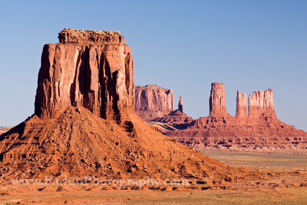 view of monument valley