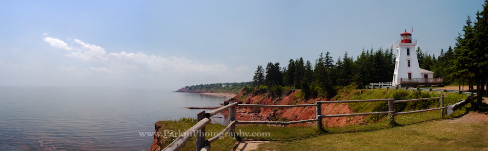 Cape Bear Lighthouse 4 Pano  Photography Art | Jim Parkin Fine Art Photography