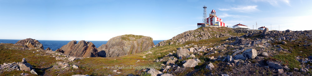 Cape Bonavista Lighthouse Panorama