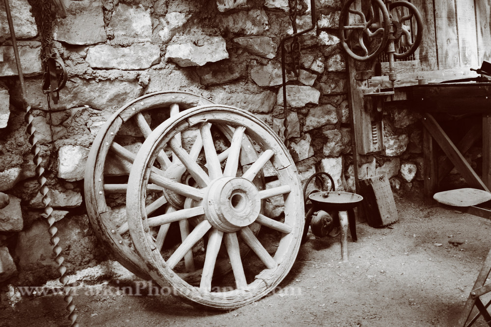 Blacksmith Shop, Sepia
