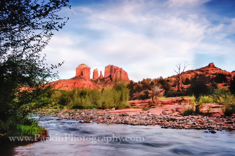 Cathedral Rock landscape print, Jim Parkin Fine Art Photography