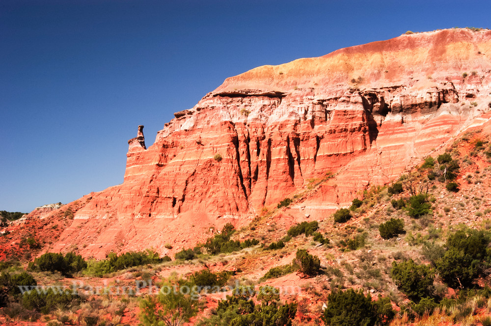 Fluted canyon wall print, Jim Parkin Fine Art Photography