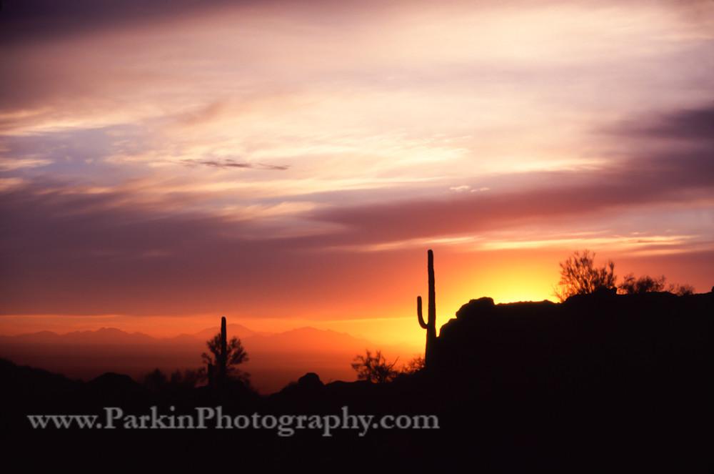 Desert Sunset print, Jim Parkin Fine Art Photography