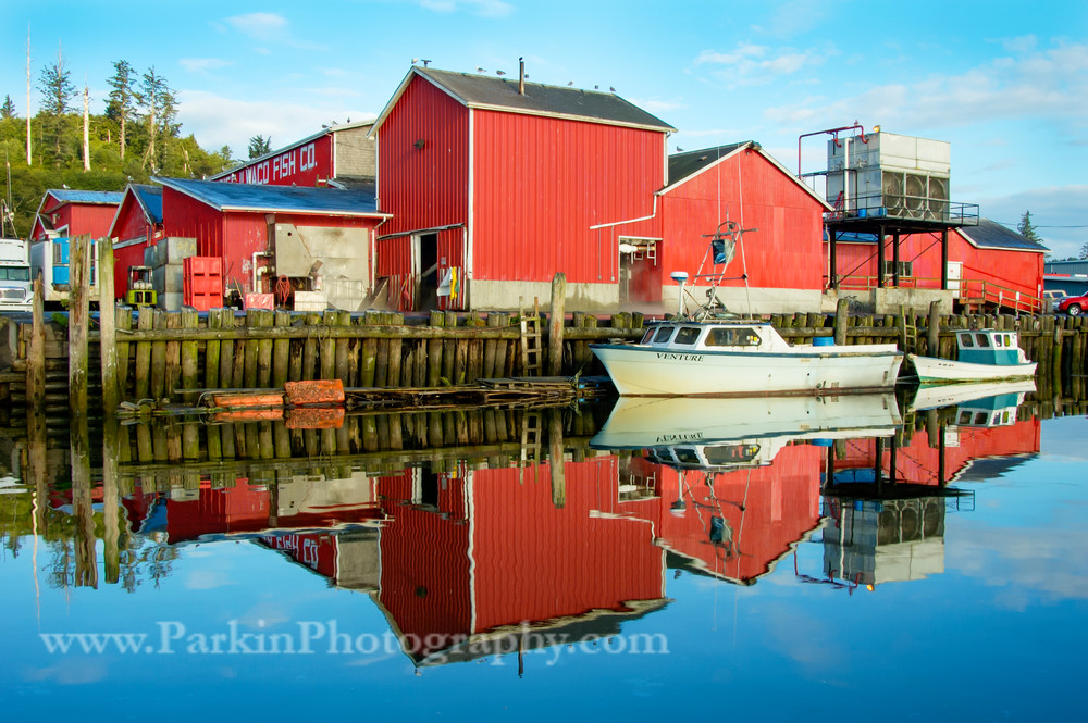 Ilwaco Fish Company | Jim Parkin Fine Art Photography