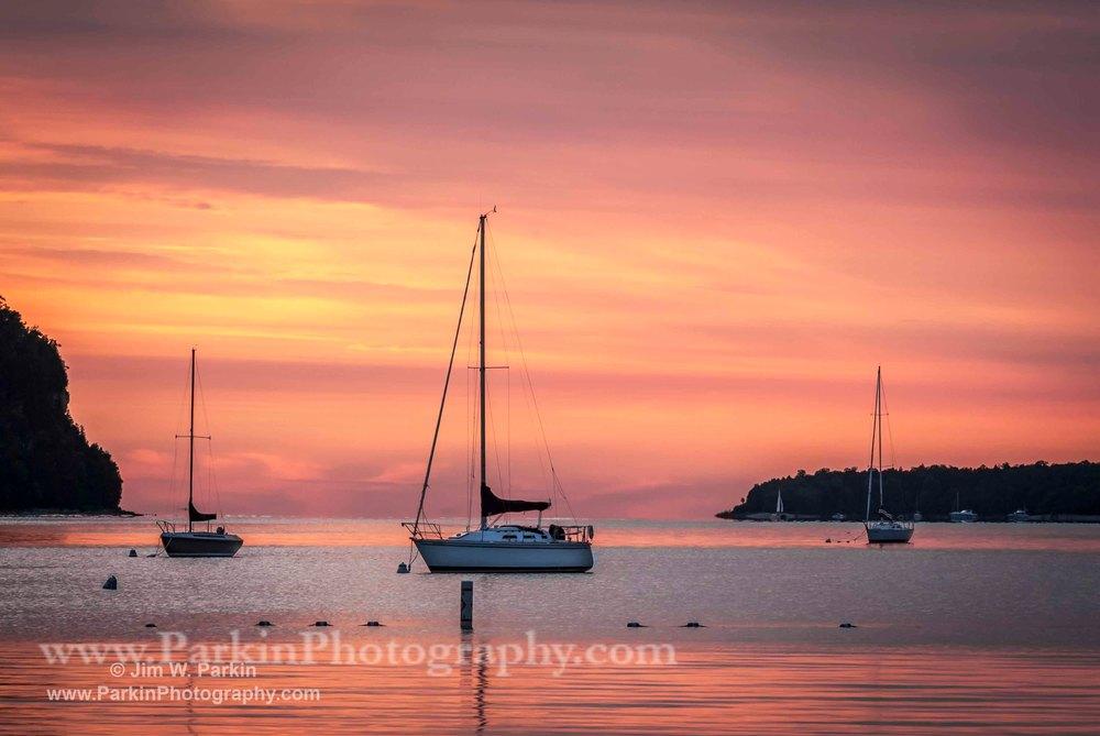 Sunset on the Bay | Jim Parkin Fine Art Photography