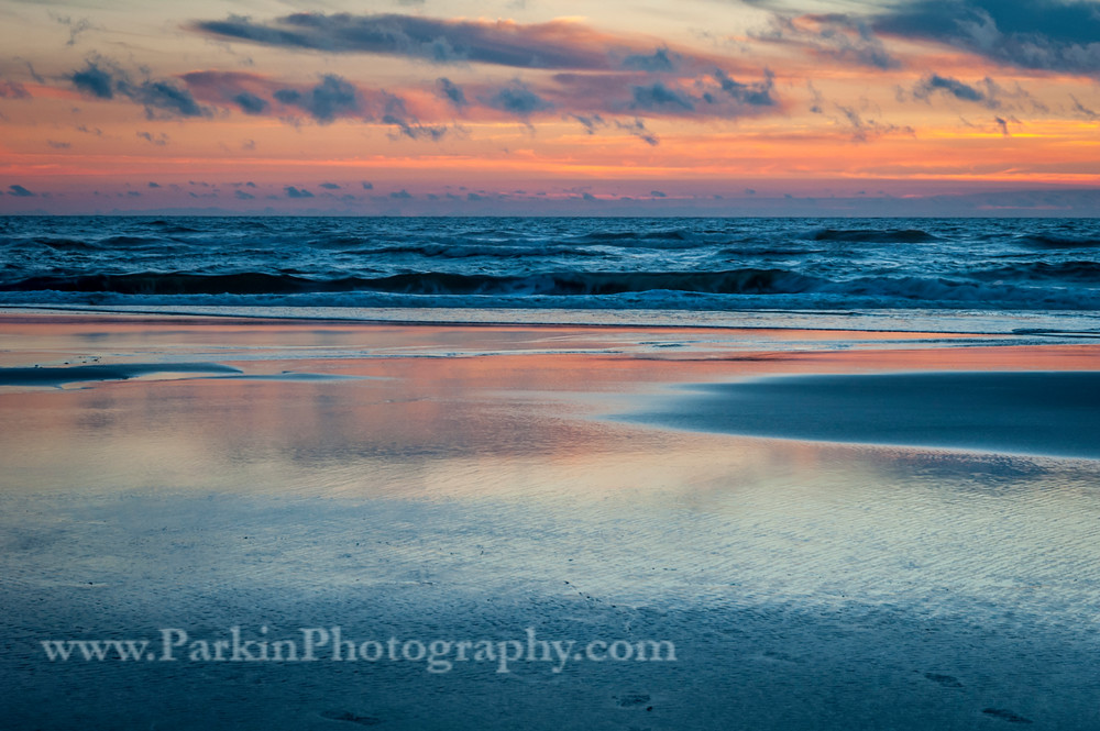 Sunset on the Pacific | Jim Parkin Fine Art Photography