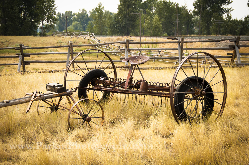 Antique Hay Rake | Jim Parkin Fine Art Photography
