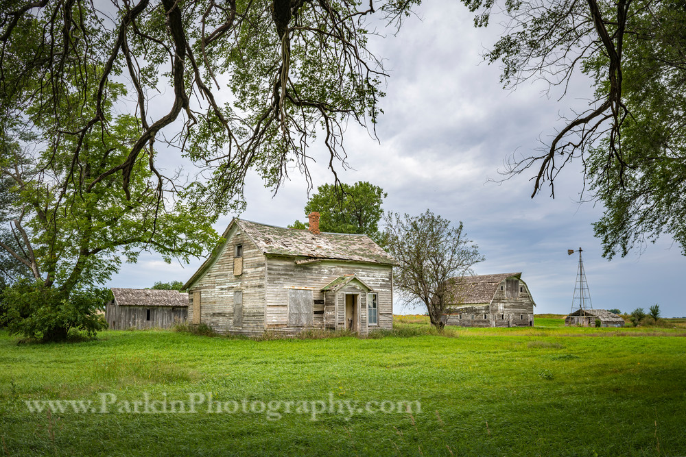 Abandoned Farmstead | Jim Parkin Fine Art Photography