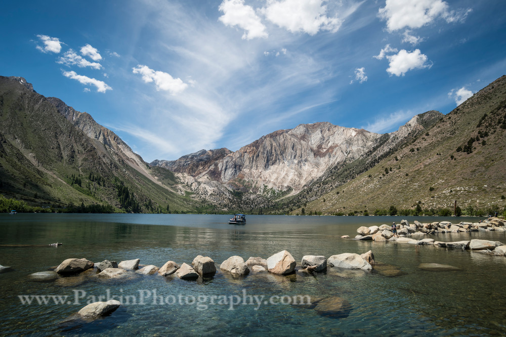 """Beautiful Day on a Mountain Lake"" print | Jim Parkin Fine Art Photography"