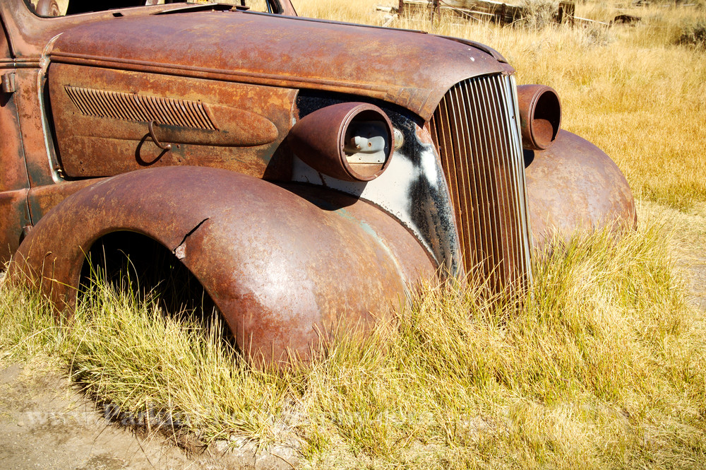 Rusty Vehicle print | Jim Parkin Fine Art Photography