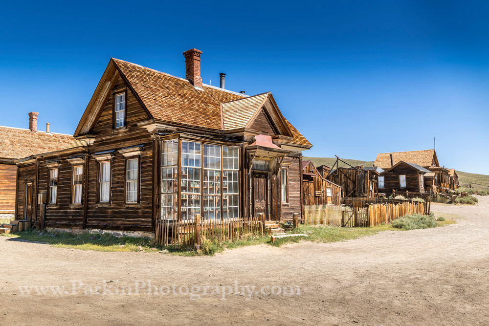 """Houses in a Ghost Town"" print 
