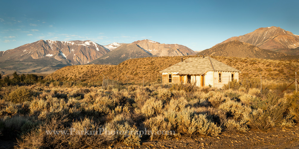 """Sunrise on an Abandoned House"" print | Jim Parkin Fine Art Photography"