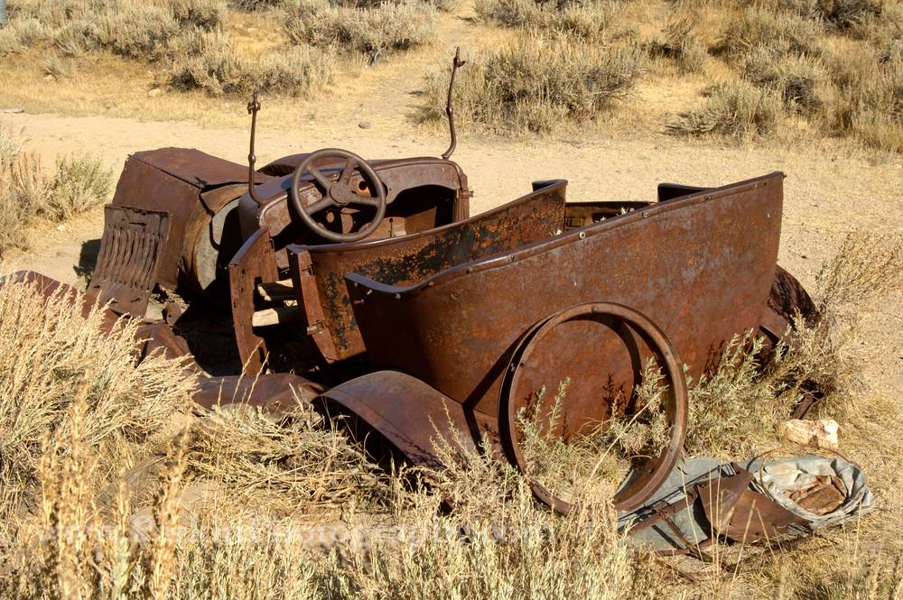 """Rusty Old Convertible 1"" print | Jim Parkin Fine Art Photography"