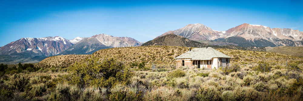 """""""Old House in Owens Valley"""" print   Jim Parkin Fine Art Photography"""