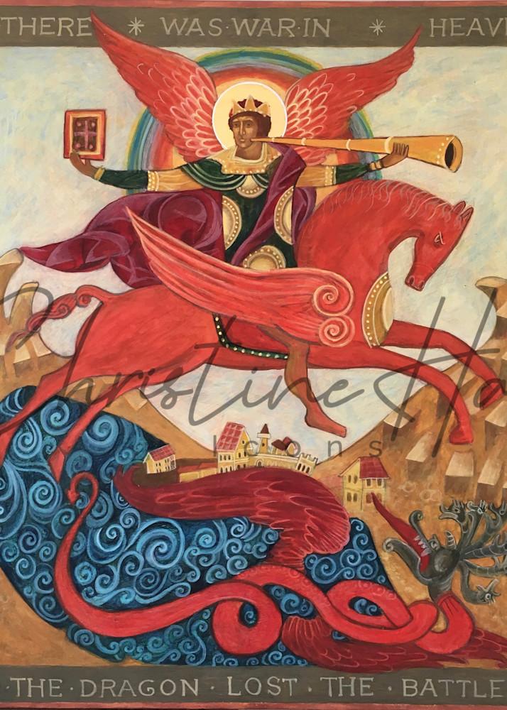 Apocalyptic Archangel Michael