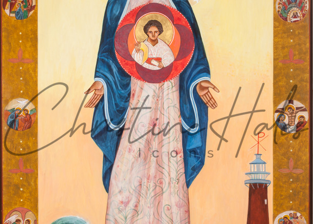 Our Lady Of Light Icon  Art | Hales Art