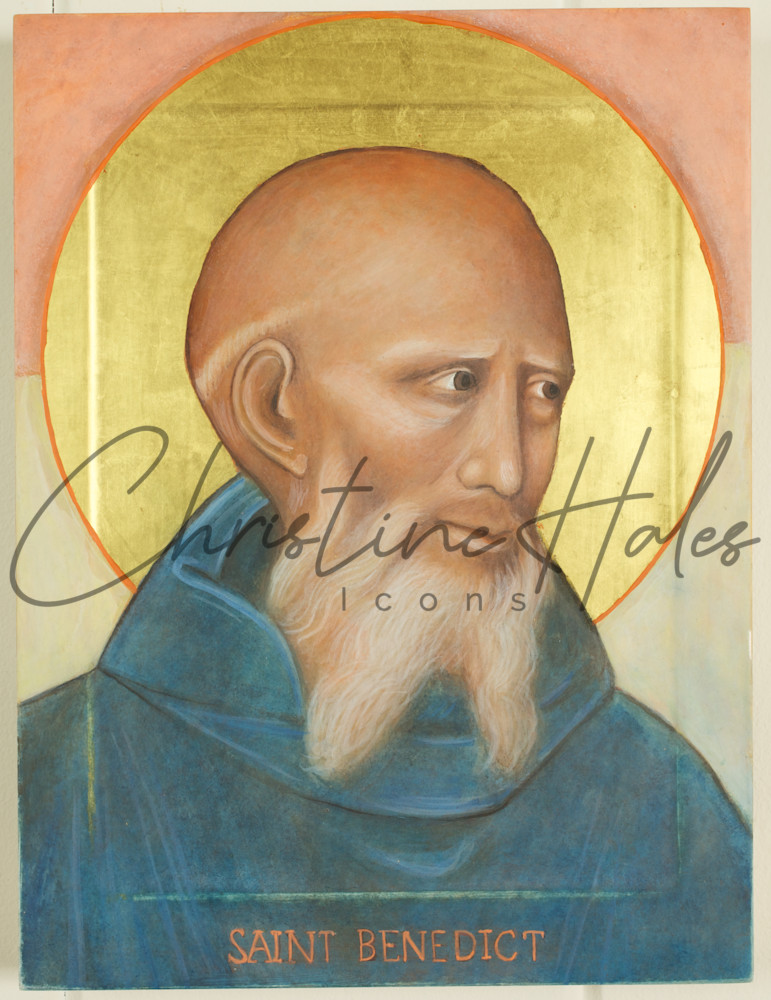 Saint Benedict Icon