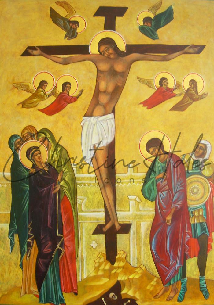 Crucifixion Icon  Art | Hales Art