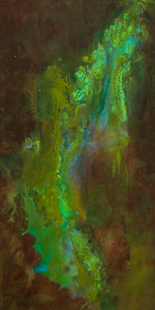 Delta 2   Abstract Painting by Lucy Ghelfi   For Sale
