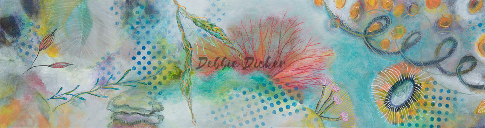 Under The Ocean Art | Debbie Dicker - Art