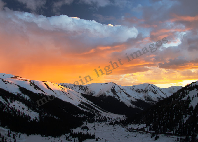 Mountain Light Images, spring, 4th of July Bowl, sunset, color, panorama