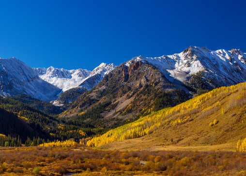 Mountain Light Images, Mace and Star Peaks Ashcroft Co. fall colors, scenic, landscape, fine art photography,