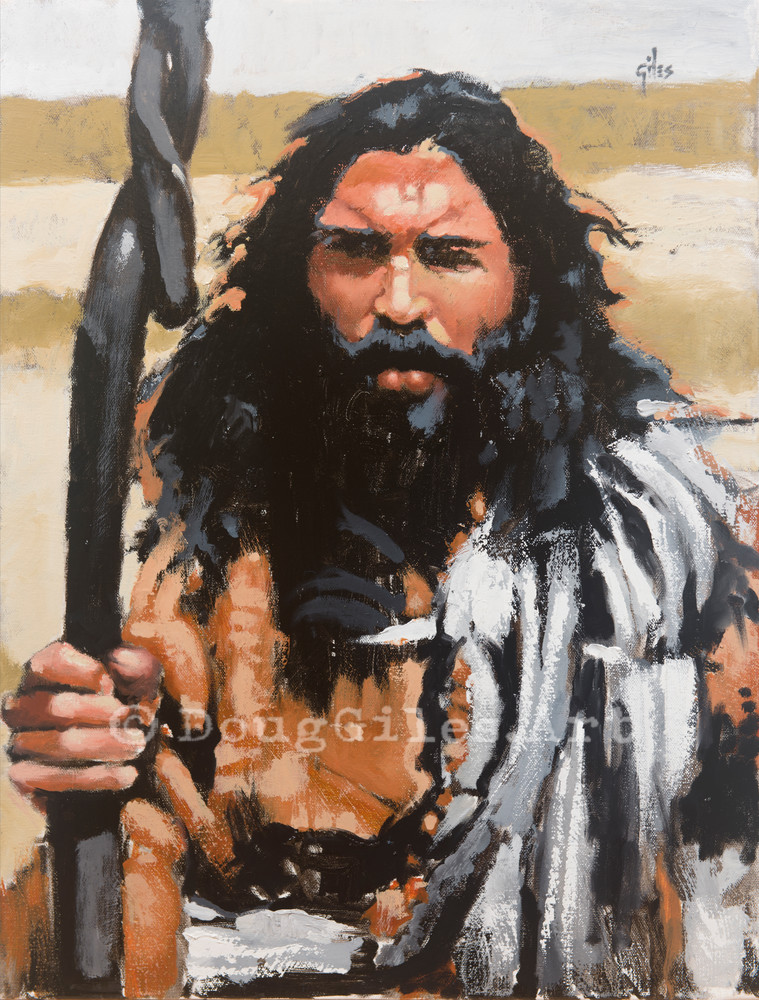 John The Baptist: The Kingdom Suffers Violence Art | Doug Giles Art, LLC