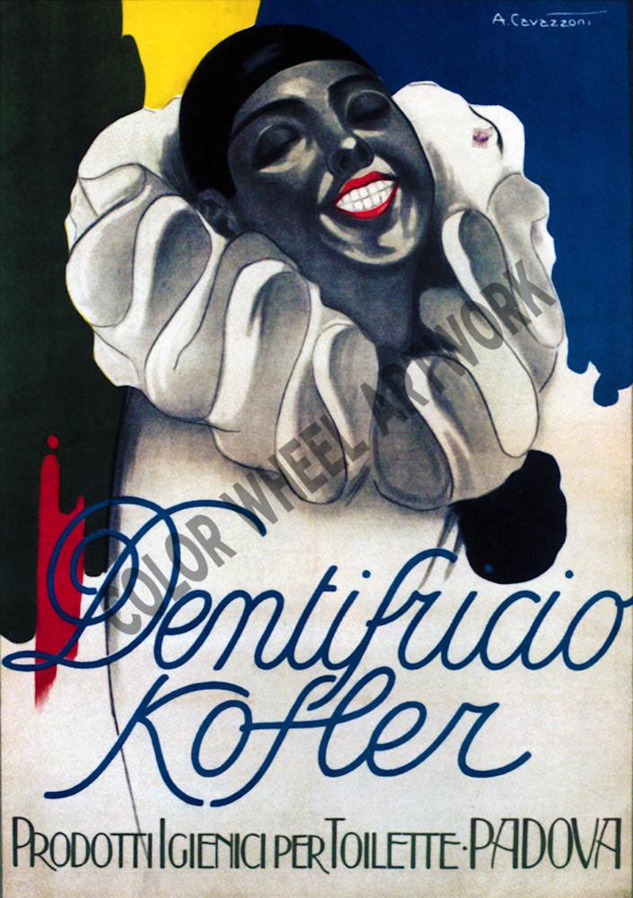 Cwa Dentifucio Kofler Toothpaste Padova Poster Ov5jdj