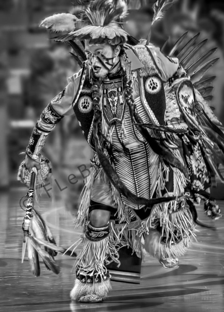 Pow Wow Regalia Tribal Drum Dance  Wall Decor fleblanc