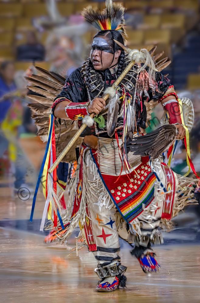 Native American Dancer Regalia Western|Wall Decor fleblanc