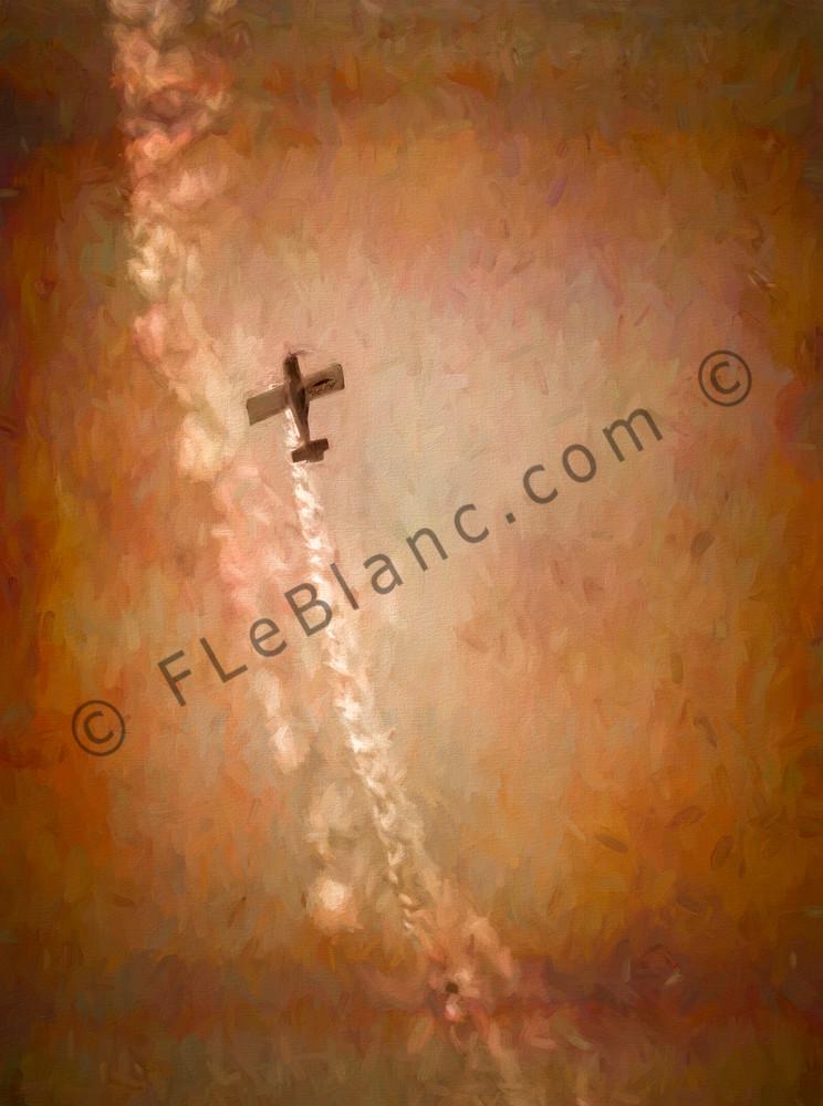 Aerobatics Airshow Sepia Vintage Texture Precision Stunt fleblanc