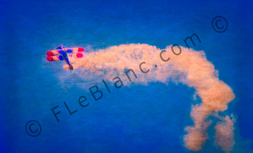 Biplane Fighter Aircraft War-bird Battle Precision Stunt fleblanc